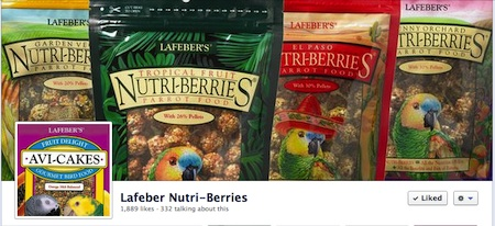 Lafeber Nutri-berries - Fan Page